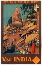 Visit India Benares Indian State Railways