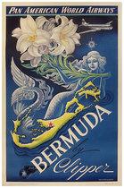 Pan Am Bermuda (Lily & Mermaid)