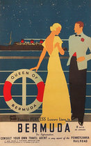 Queen of Bermuda Famous Furness Luxury Liner to Bermuda (Small Format)