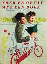 Boekenweek Week Trek Er Op Uit Met Een Boek (Biking Couple)