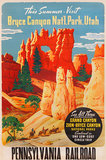 Bryce Canyon National Park Pennsylvania Railroad