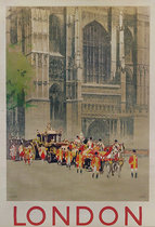 London Westminster  (Cathedral and Royal Procession)