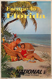 Jet National Escape to Florida (Couple on the Beach)
