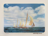 American Airlines Long Island Sound (Sail Boats)