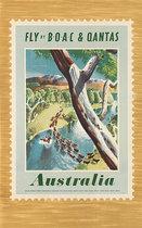 Fly BOAC & Qantas Australia