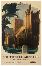 Southwell Minster Nottinghamshire British Railways