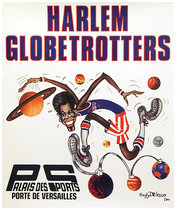 Harlem Globetrotters Palais de Sports Versailles