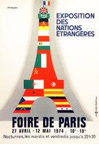 Foire de Paris Exposition Des Nations Etrangeres
