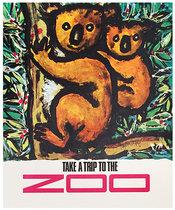 British Bus Take a Trip to the Zoo
