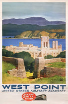 West Point by New York Central Railroad