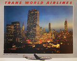 Trans World Airlines TWA New York Skyline