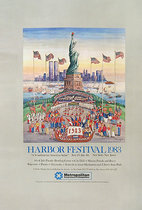 NYC Harbor Fest 1983, Statue of Liberty