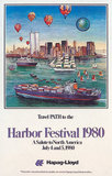 NYC Harbor Festival 1980 Travel PATH to the NYC (Globe)