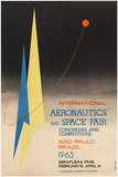 Aeronautics and Space Fair Sao Paulo Brazil 1963