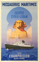 Messageries Maritmes Egypte Syrie Liban