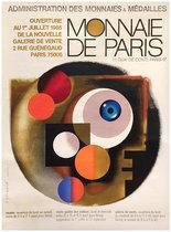 Monnaie De Paris (White Abstract)