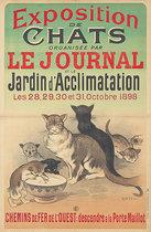 Exposition de Chats Le Journal (Cat Show)