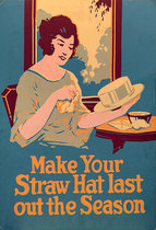 Pharmacy Card: Make Your Straw Hat Last out the Season