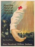 Keep this Hand of Mercy at its Work RED CROSS