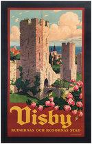 Visby Ruinernas Och Rosornas Stad