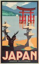 Japan (Sika Deer and Torii Gate)