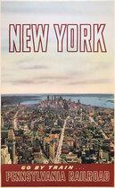 Pennsylvania Railroad New York Go By Train (Lower Manhattan)