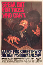 Solidarity Sunday March for Soviet Jewry Speak Out