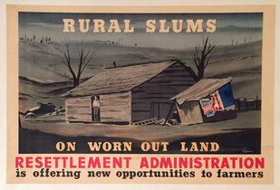 Rural Slums On Worn Out Land  (Resettlement)