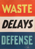 WASTE DELAYS DEFENSE (Think American)