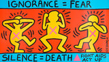 Ignorance = Fear   :  Fight Aids,  Act Up