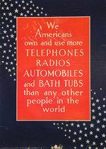 Telephones Radios Automobiles and Bath Tubs (Think America)