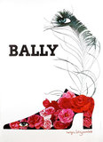 Bally Shoes (Flowers and Eyes)