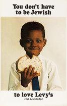 Levy's Rye Bread (African American Boy)