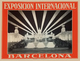 Exposicion Internacional Barcelona (Orange)