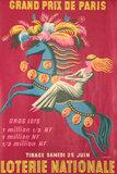 Grand Prix De Paris Loterie National (Blindfolded Woman on a Horse)