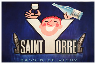 Saint Yorre Mineral Water
