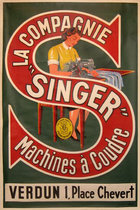 Singer Sewing Machine (Silkscreen)