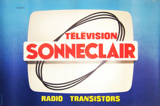 Television Sonneclair (Blue Horizontal)