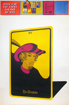 Tarot Poster Linweave Tarot Card Deck Le Diable XV