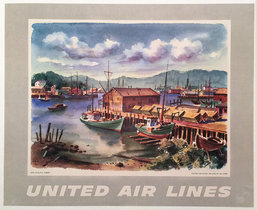 United Airlines New England Harbor