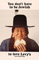 Levy's Rye Bread (Native American Man)