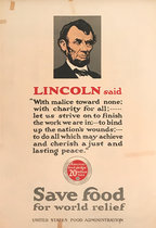 Lincoln Said Save Food