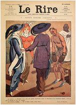 Le Rire Mars 1913 Genty Contre Johnson (Boxer)