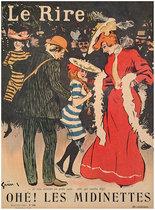 Le Rire Novembre 1903 Ohe! Les Midinettes (Shopgirls)