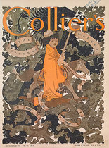 Collier's (The Knight Errant) Magazine Cover