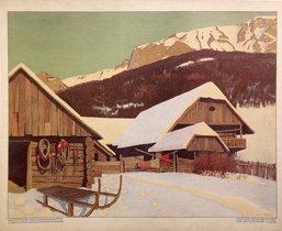 Austrian Cabin Scene