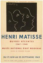Henri Matisse Oevres Recentes Musee National D'Art Moderne