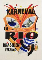 Karneval Rio Brasilien Februar