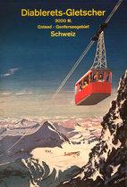 Diablerets Gletscher Gstaad Genferseegebiet Schweiz