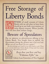 Free Storage of Liberty Bonds